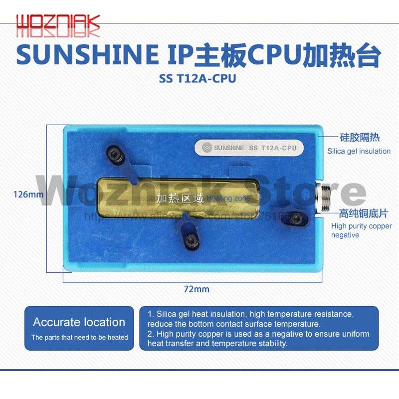SS-T12A Pentru platforma de încălzire stratificată IPHONE X pentru - Seturi de instrumente - Fotografie 2