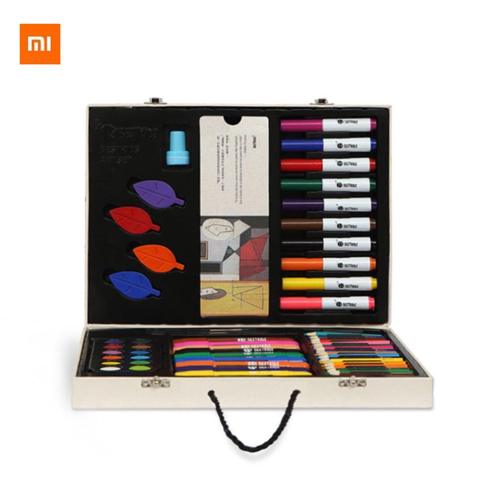 69 pièces/boîte Original Xiaomi Youpin enfance Art Set enfants Crayons Paintbrush enfants jouet d'éveil