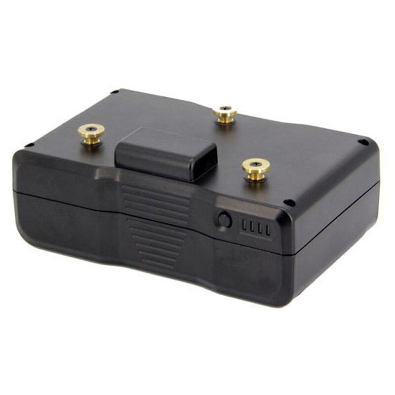 LPD 14.8 V 150Wh AN-150W 100% tout nouveau remplacement caméra batterie diffusion caméscopes avec sortie USB pour Sony BL-BP150 BP-150S - 6