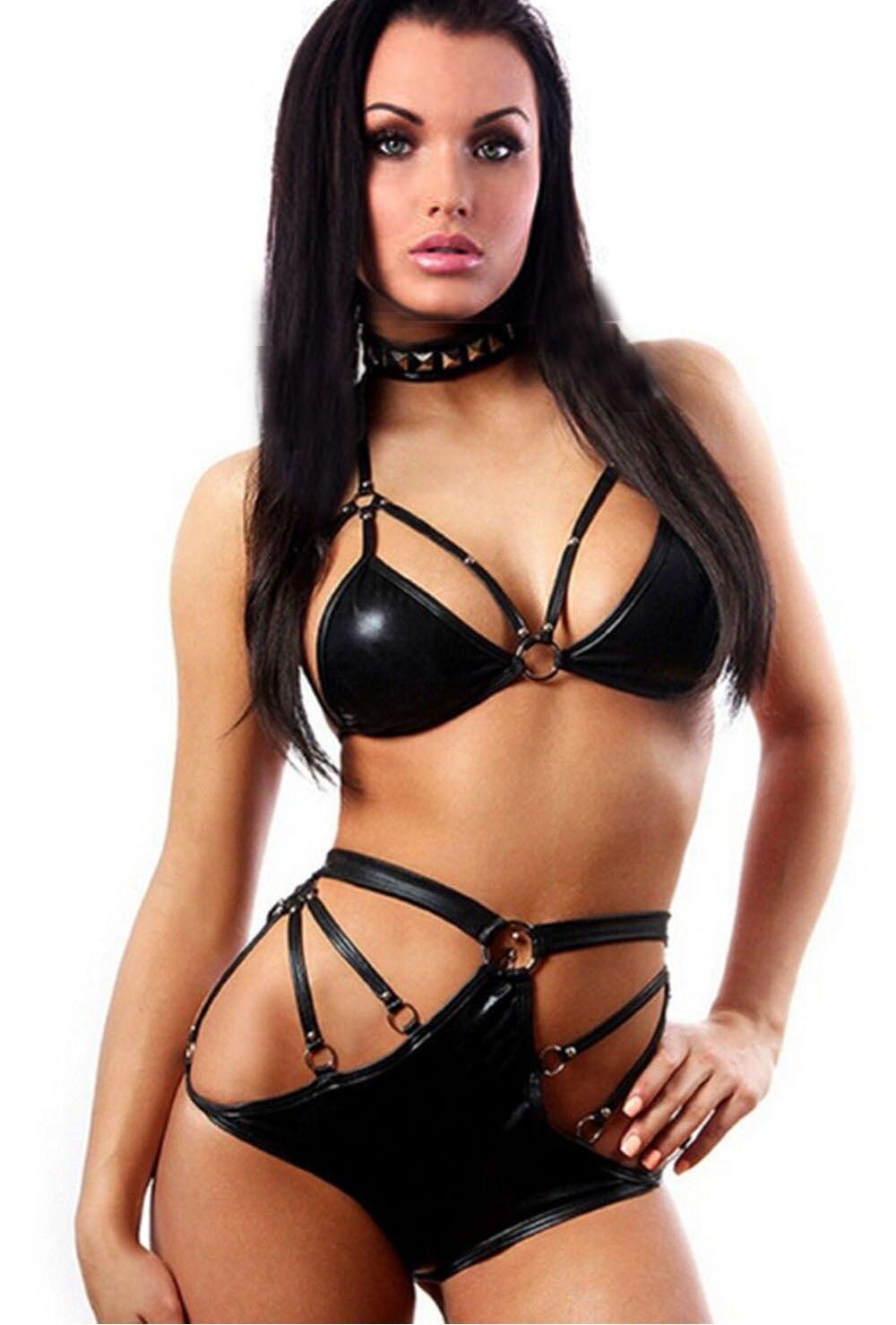 Эротическая одежда из латекса мини бикини фото смотреть онлайн фотоография