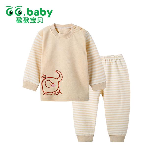 Animais Conjuntos de Roupas infantis Crianças Meninas Camiseta Calças Recém-nascidos Meninos Roupas de Bebê Definir Algodão Roupa Bebes Camisa Ternos Menino pijama
