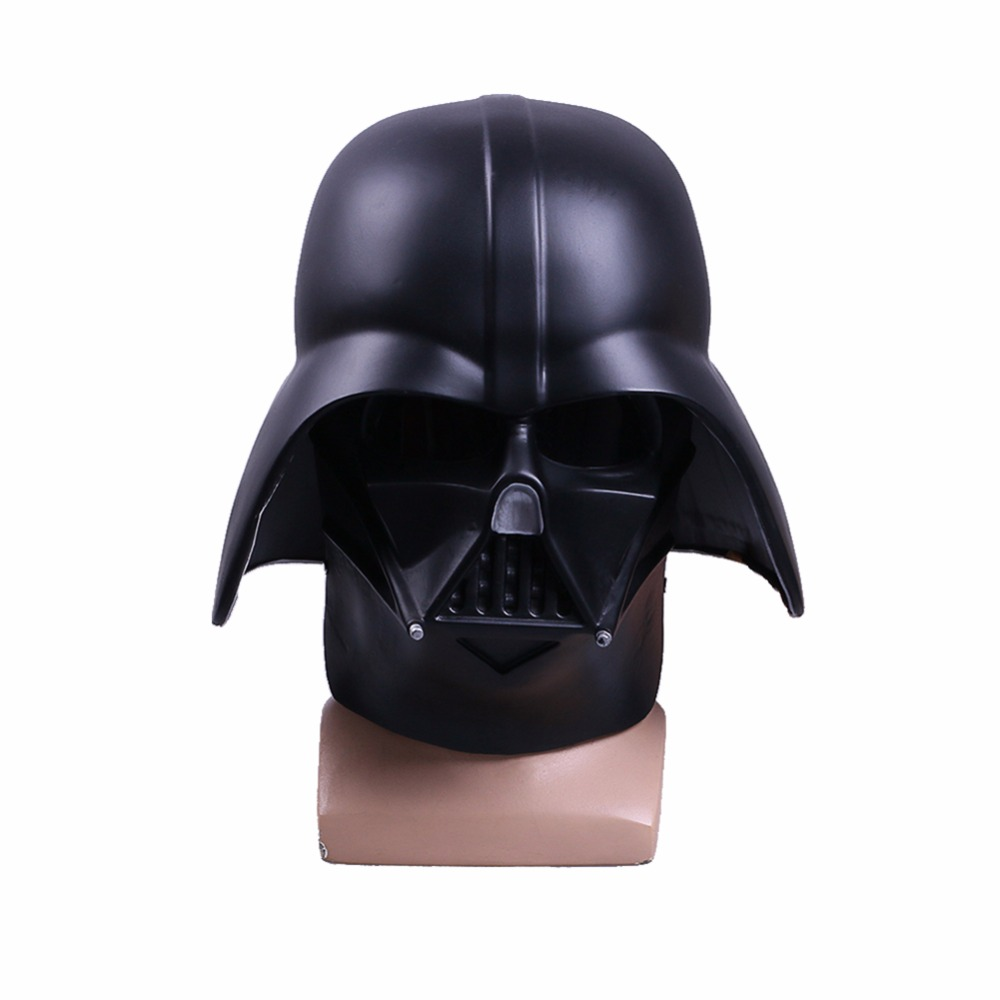 Star Wars Anakin Skywalker Darth Vader Mask Full Helmet Cosplay Costume Props Halloween Carnival Party Head Full Face PVC Mask
