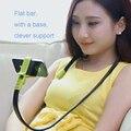 Rotación de 360 grados Lazy Brazo Flexible Soporte Universal de Teléfono Móvil colgando del cuello del soporte para el iphone samsung htc sony lg cama escritorio