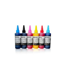 6 Colors Sublimation Ink for Epson refillable ink cartridge , CISS 100ml/bottle,Photo print with sublimation paper heat transfer