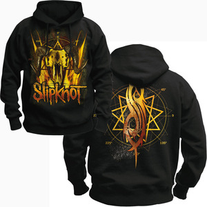 Image 3 - Bloodhoof SLIPKNOT alternative metal black  pullover hoodie Asian Size