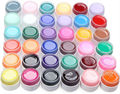 NEW 36PCS/Set Pure Colors UV Gel Nail Solid UV Nail Gel Polish