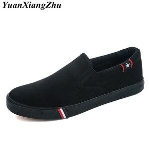 Image 5 - 2019 весна лето дышащая мужская повседневная обувь, мужские лоферы, холщовая обувь на шнуровке, модная обувь унисекс на плоской подошве, женская обувь 35 47
