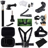 Basic Outdoor Sport DV Accessories Kit For GoPro Hero4 Session Hero1 2 3 3 4 Climbing