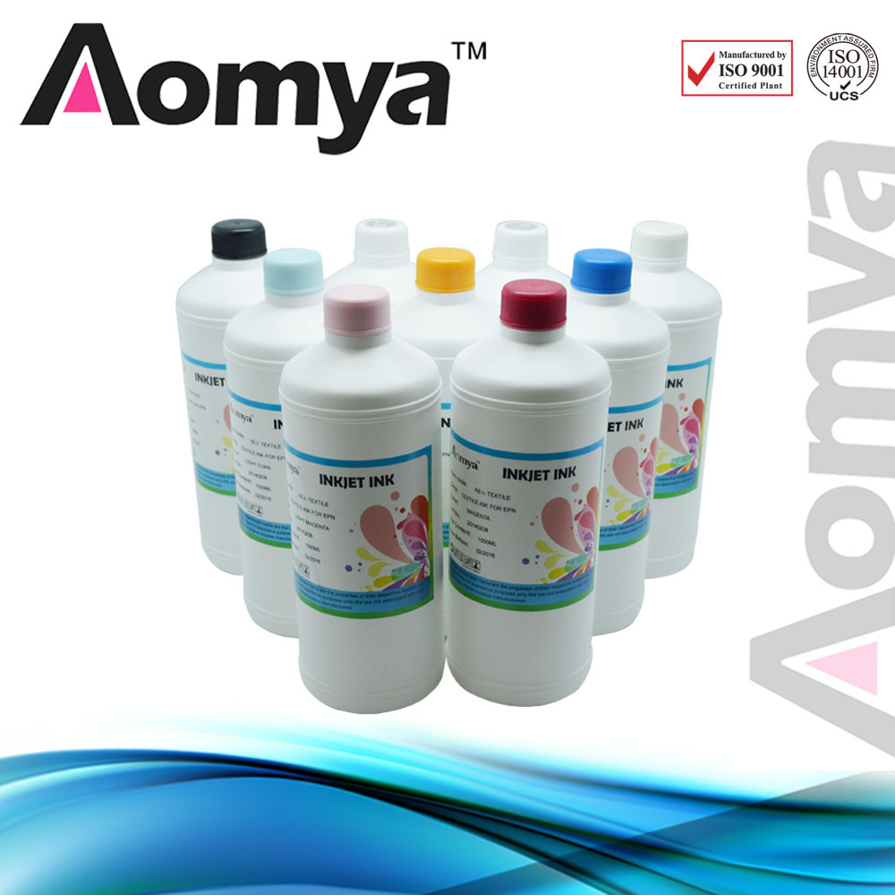 1000ml x 8 bottles Aomya Pigment Ink Compatible for HP70 used for Designjet Z2100/Z5200 Printers Plotter,high quality ink hot sale 1000ml roland mimaki mutoh textile pigment ink in bottle color lc for sale
