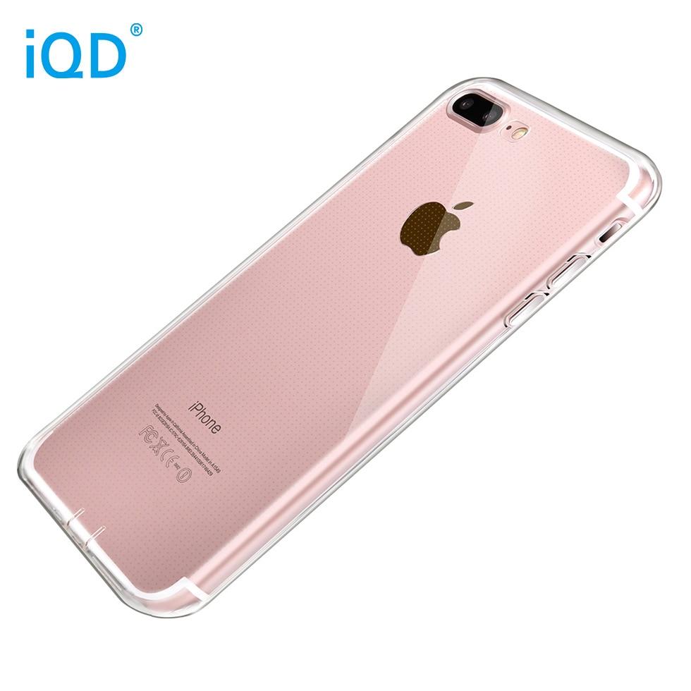 IQD iPhone X 8 7 Plus- ի պատյանների համար բարակ - Բջջային հեռախոսի պարագաներ և պահեստամասեր - Լուսանկար 4