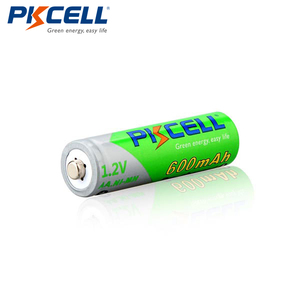 Image 2 - 8Pcs/2cards PKCELL AA Ni MH Pre charged Batteries 600mAh 1.2V AA NiMh LSD Rechargeable Battery for Remote Control