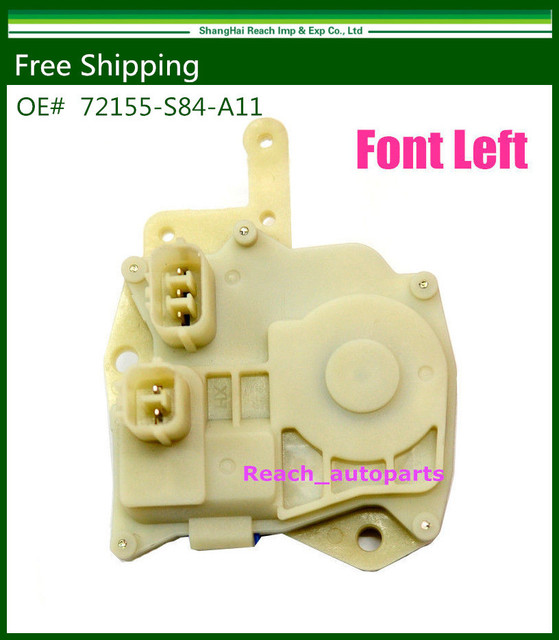 Free Shipping New Insight Power Door Lock Actuator Front Left Side Fit For Honda Odyssey Civic 72155-S84-A11