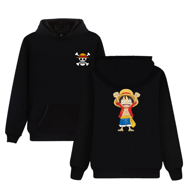 LUFFY CHIBI HOODIES (6 COLORS)