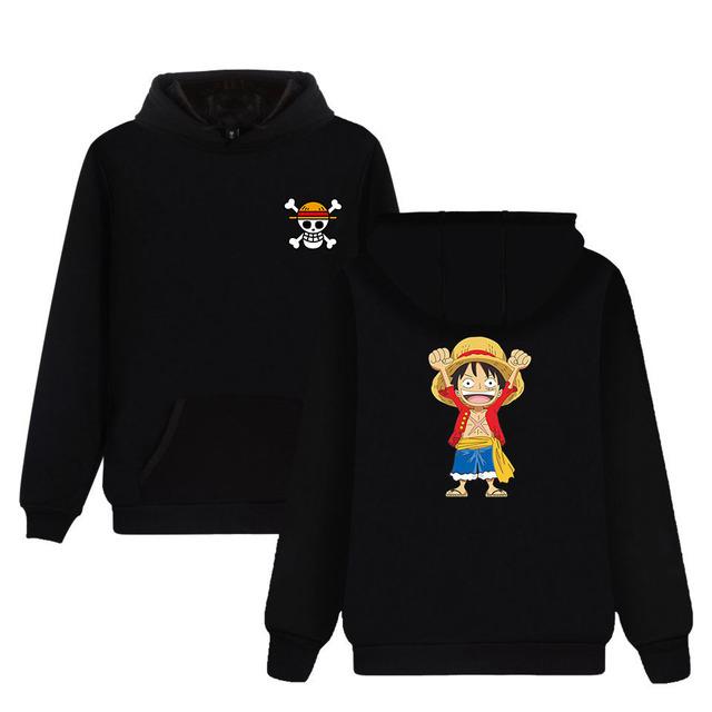 One Piece Chibi Luffy Sudadera con Capucha (6 Colores)