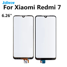 For Xiaomi Redmi 7 Touch Screen panel Sensor Front Outer Glass Pane Replacement Parts 6.26inch