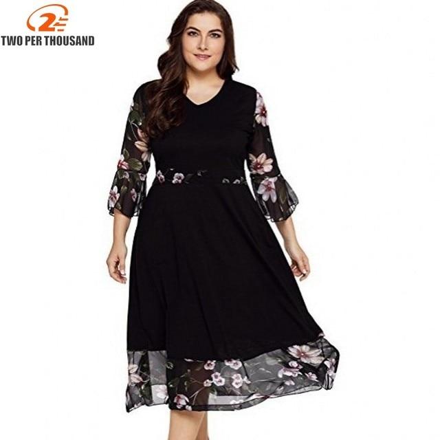 Aliexpress.com : Buy Large Size 3XL Women Dress Vintage Zipper ...