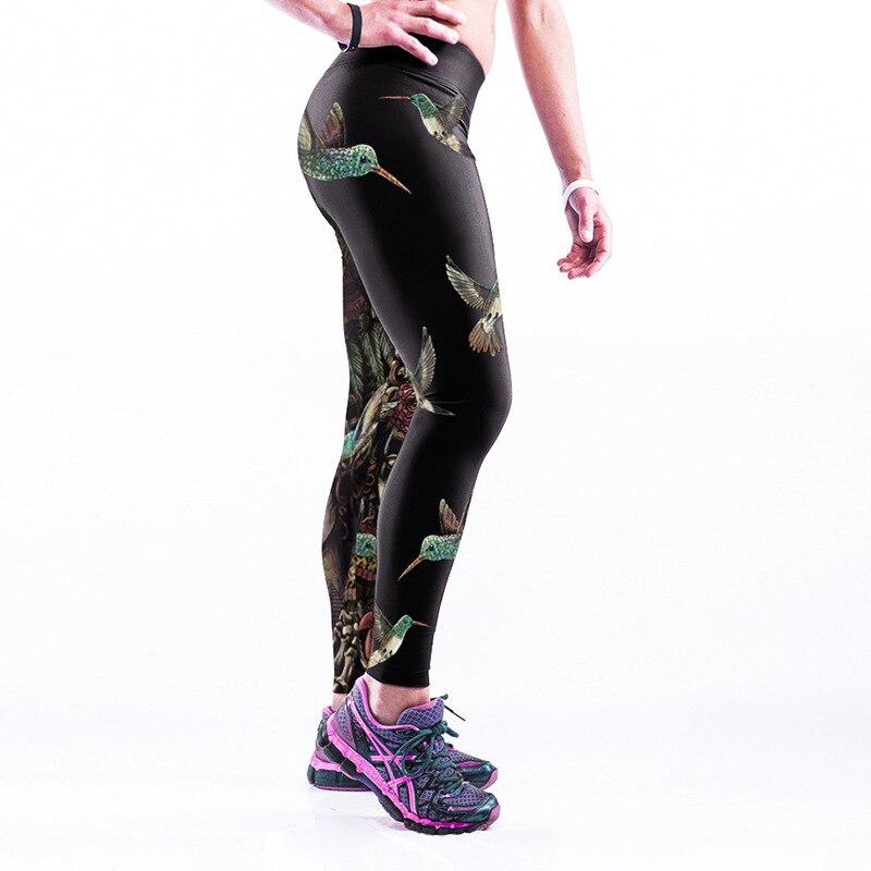 S-XXXXL Fitnesslegging voor dames Persoonlijkheid Skelet 3D-geprinte - Dameskleding - Foto 5