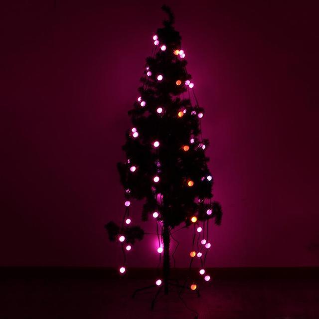 71led lighting strings christmas lights star shower laser light festival christmas tree decoration lights us