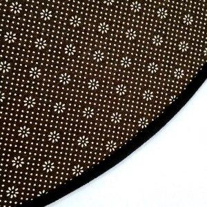 Image 5 - Gorgeous Starry Universe Series 3D carpet Living room bedroom non slip circular floor mat plush round rug custom made door mat