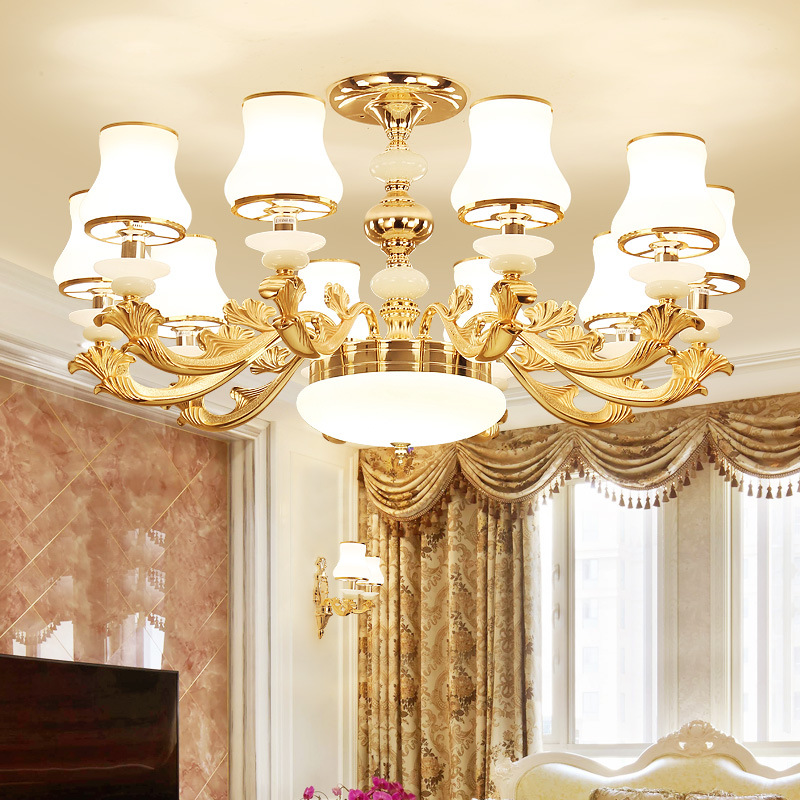 Modern LED chandelier living room suspended lamps American luminaires bedroom lighting home fixtures dining room hanging lights|Pendant Lights| |  - title=