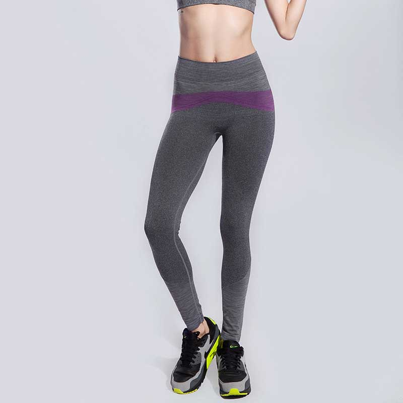 Femmes Collants Running Yoga Legging Pro Musculation Sport Compresser Gym  Pantalon Exercice de Remise En Forme À Séchage Rapide D entraînement Ballet  ... b44e29b8363