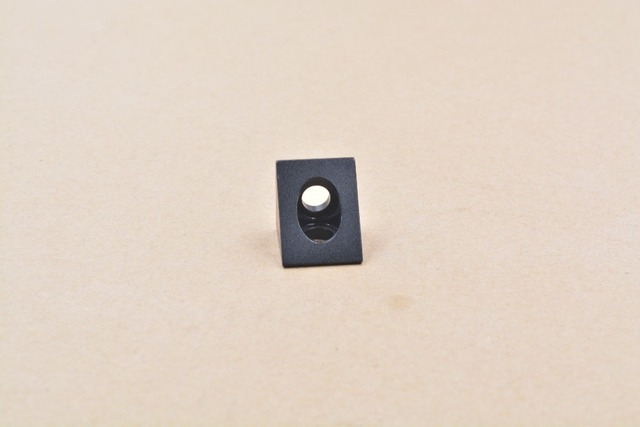 V-slot Black Angle Corner Connector 90 degree Angle Bracket for openbuilds CNC mill 3D printer DIY parts