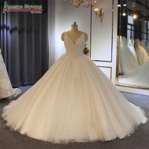 Image 1 - Vestido de novia con perlas, pedido al cliente
