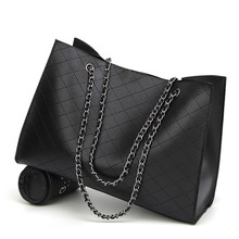 Womens bag 2019 new 2 - piece set European and American fashion pu material portable shoulder