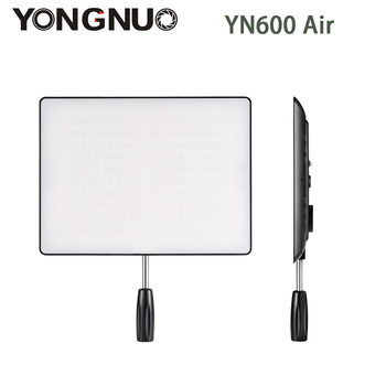 YONGNUO YN600 Air Ultra Thin LED Camera Video Light Panel 5500k and 3200K-5500K Bi-color Photography Studio Lighting