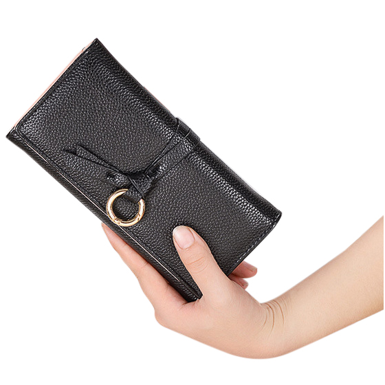 FGGS-cute wallet for teen girls Womens PU Leather Clutch Wallet Long Card Holder Purse Handbag