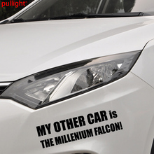 My Other Car Is The Millenium Falcon Vinyl Sticker-novelty Sticker