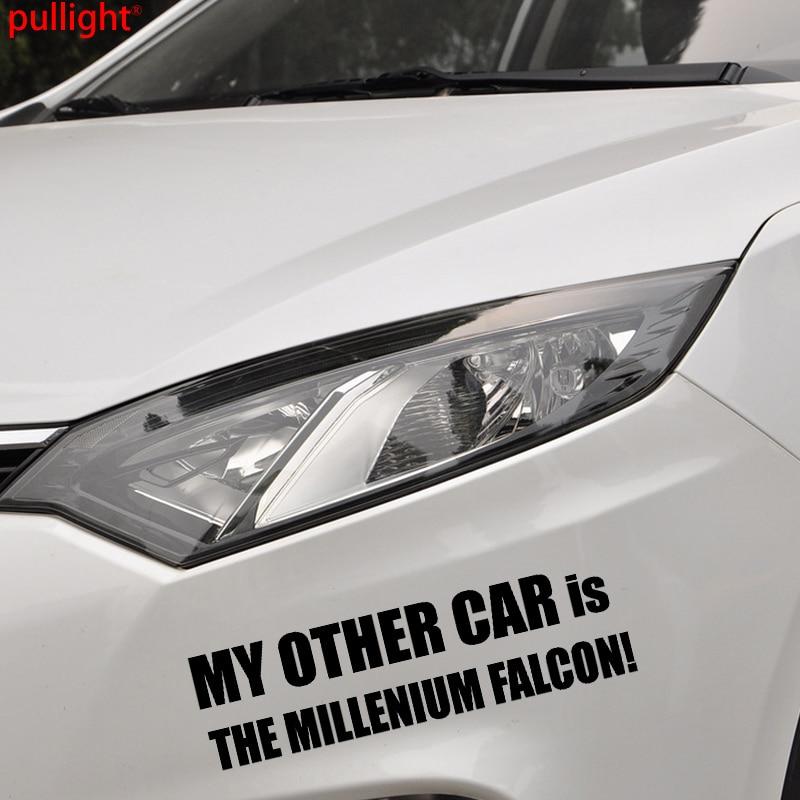 My Other Car Is The Millenium Falcon Vinyl Sticker-novelty Sticker