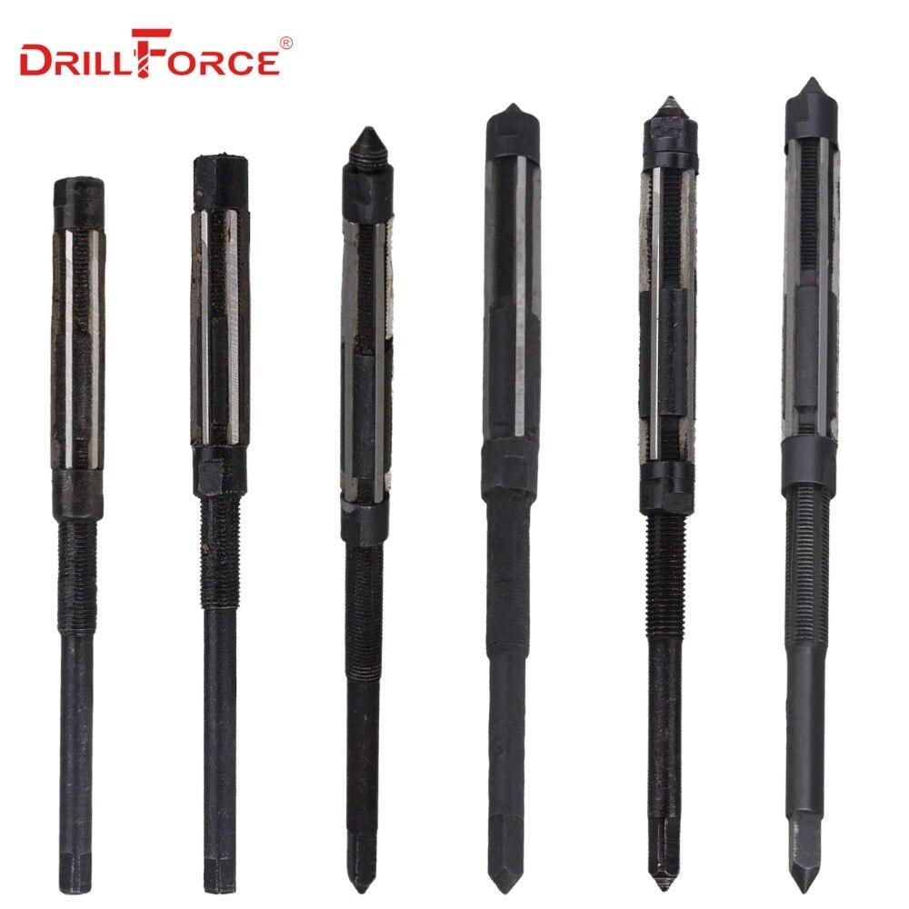 HSS Adjustable Hand Reamer Milling Cutter Tool 26-29.5mm Cutting Dia