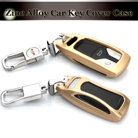 Car Key Fob Cover Case Skin For Audi A4 A4L 8S 2017 2016 Allroad B9 Q5