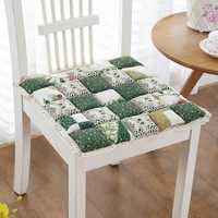 Cadeira quadrada almofada de jantar fezes cadeira almofada não-deslizamento assento de escritório esteira confortável sentado travesseiro nádegas cadeira almofadas