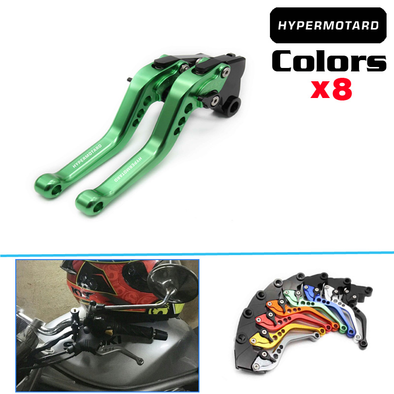 Laser Logo 14 Colors Folding Extendable Motorcycle Brake Clutch Levers For Suzuki GSXR-750 2011 2012 2013 2014 2015 2016