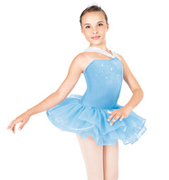 Hot Drilling Professional Girls Kids Ballet Dance Dress Pink Chiffon Skirt Ballet Leotard Children Ballet Dance Wear