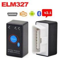ELM327 Bluetooth V2.1 with Power Switch ODB2 ODBII OBD II ELM 327 Bluetooth Tester Car Auto Diagnostic Scan Tool Torque Android