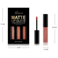 Waterproof Soft Texture Matte Lipgloss Kit Long Lasting Choose Colors Lip Gloss Matte Liquid Lipstick Makeup