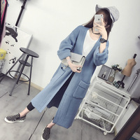Average Size Pregnant Women S Fashion Jacket Knitted Sweater Coat Loose 8301S
