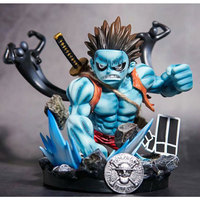 One Piece Anime Figure Monkey D Luffy PVC Action Figure GK Fourth tranche Demon Ver. Limited sculpture Collection Model Toys