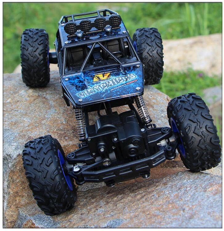 28cm Adult children toys 1 16 4 channel 4WD 2 4G high speed gun type Remote