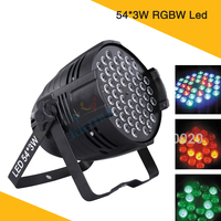 54Pcs 3W LED PAR Light RGBW Dmx Stage Lights