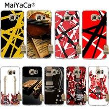 e413a8fea01 MaiYaCa Eddie Van Halen Graphic Guitar soft tpu phone case cover for  samsung galaxy s7edge s6 edge plus s5 s8 s7 case