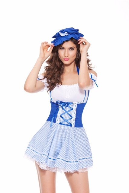 Maid Uniform Halloween Costumes For Women 1120 Sexy French Maid Costume  sc 1 st  AliExpress.com & Maid Uniform Halloween Costumes For Women 1120 Sexy French Maid ...