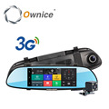 "Ownice 7"" Android 5.0 Car dvr video mirror Quad core gps navi BT Dual camera recording FHD 1080P Support 3G WCDMA SIM CARD WIFI"