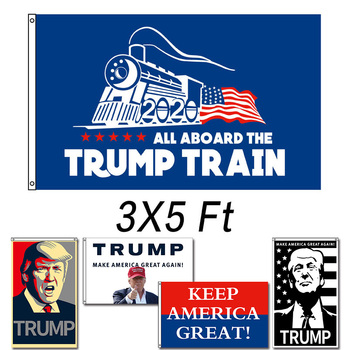 TRUMP 2020 for Re-Election / Keep America Great Flag