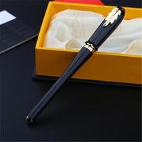 1pc Lot Picasso 986 Black Roller Ball Pen Gold Clip Pimio Picasso Irene Ball Pens Canetas