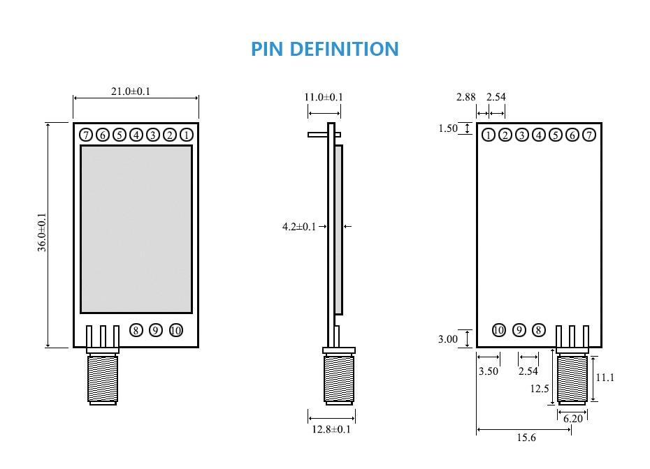 E32-868T20D LORA-SX1276 Wireless Transceivers (3)