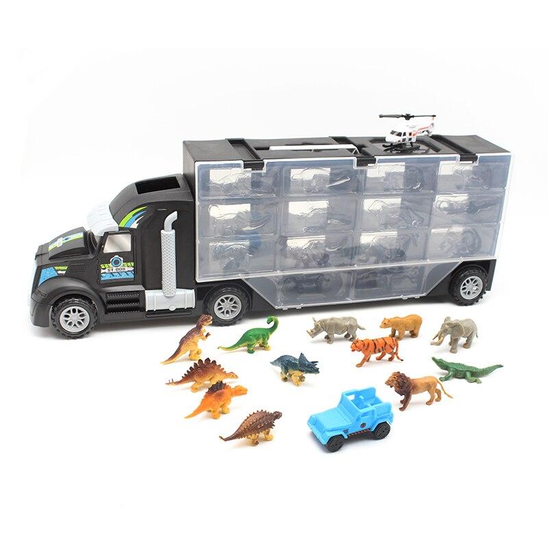 Anime Lourd Camion Jouet Voiture Tiens Camion Garçons Éducatifs En Plastique Jouets de Camion 10 pièces Dinosaure Série Petit Pixar Voitures Jouet Pour Enfants